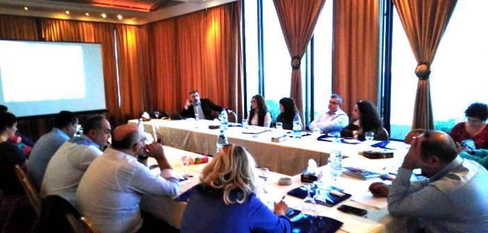 ورشة عمل حول وضع رزمة أنشطة عن المواطنية الفاعلة لمرحلة التعليم الأساسي  في جبيل